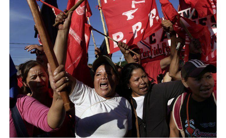 Paraguay: campesinos protestan contra el gobierno