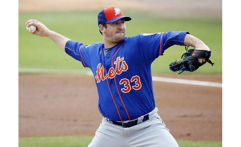 Harvey abrirá el juego inaugural por los Mets