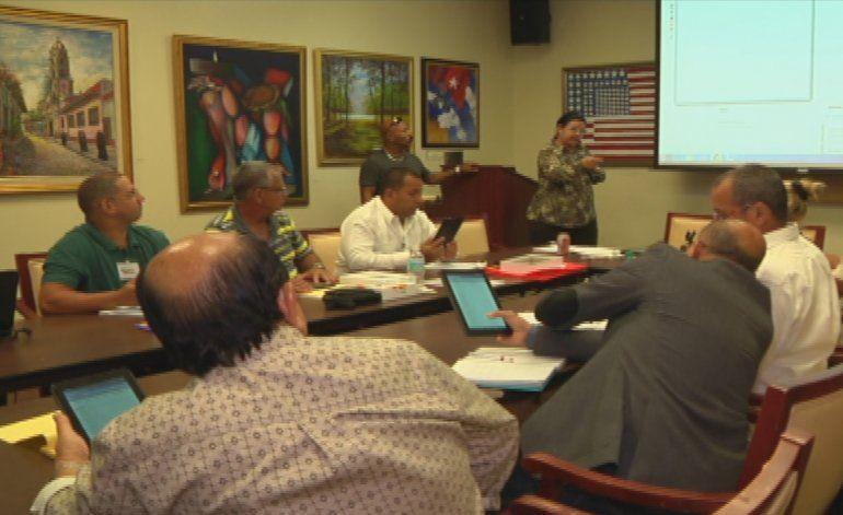 Disidentes cubanos están participando esta semana en un seminario sobre democracia en la isla