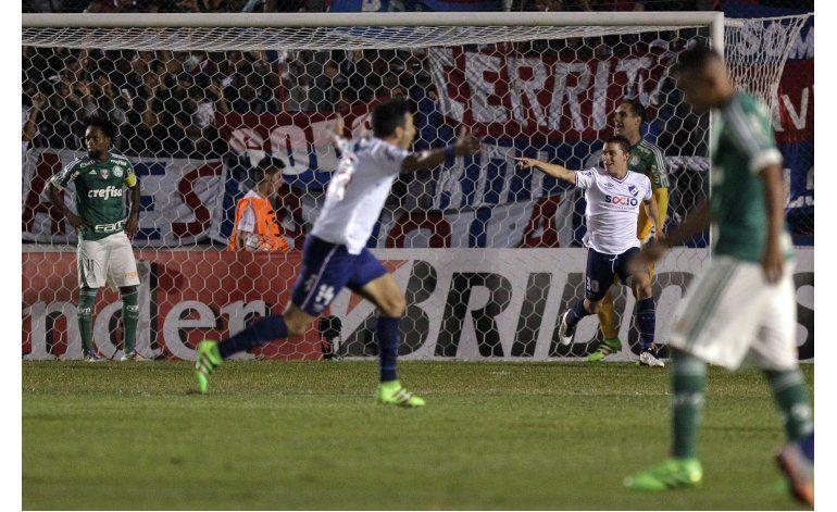 Libertadores: Nacional vence 1-0 a Palmeiras