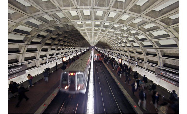 Por mal mantenimiento, el metro de Washington pierde encanto