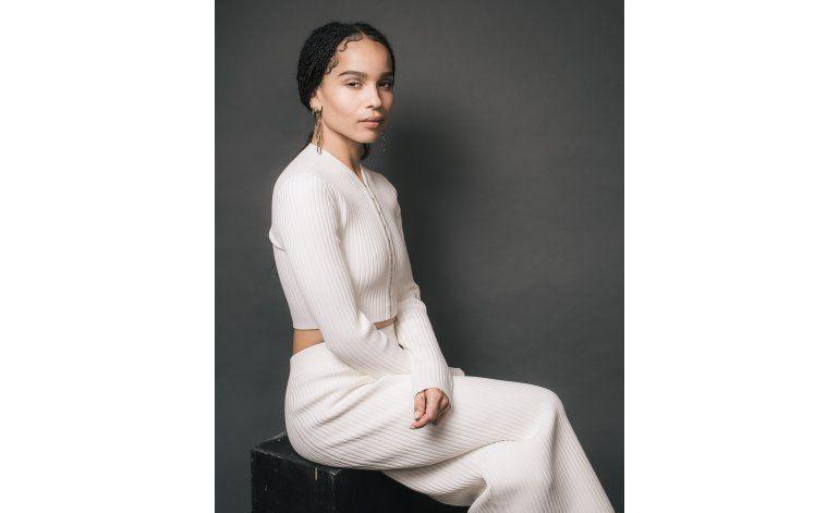 Zoë Kravitz decide romper con los estereotipos en Hollywood