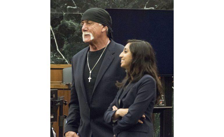 Hogan podrá cobrar indemnización por 115 millones de dólares