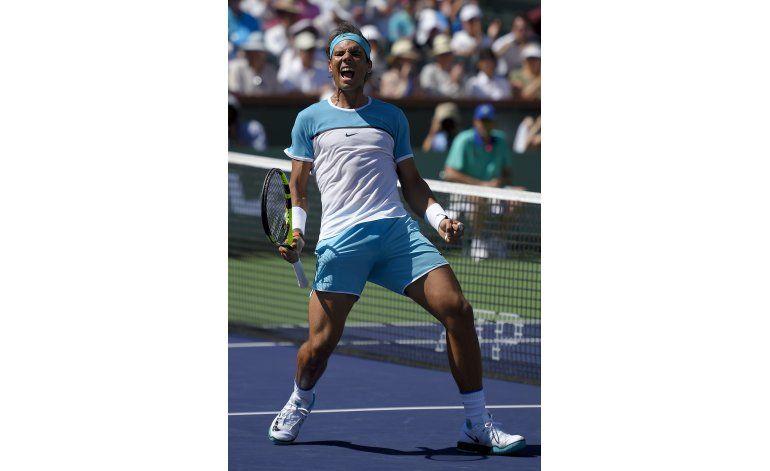 Nadal se cita con Djokovic en las semis de Indian Wells
