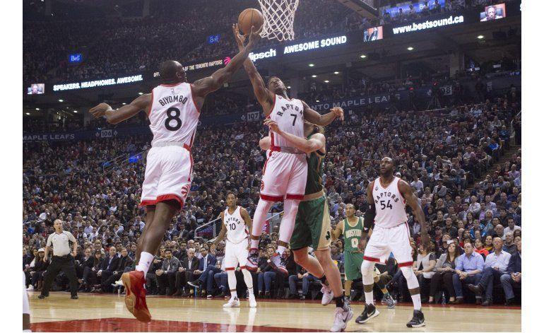 Lowry y Raptors propinan a Celtics su 4ta derrota seguida
