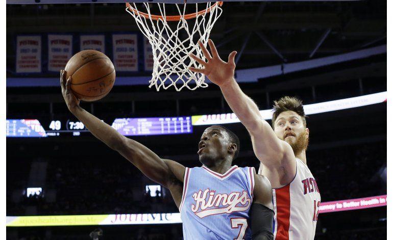 Pistons resisten al ataque de Kings