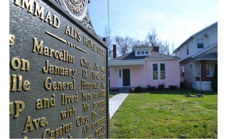 Convierten en museo casa donde creció Muhammad Ali