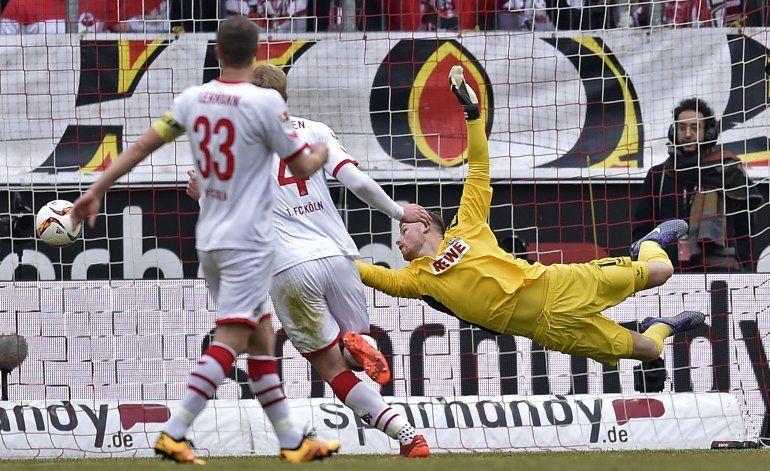 Bayern vence 1-0 al Colonia y amplía su liderato a 8 puntos