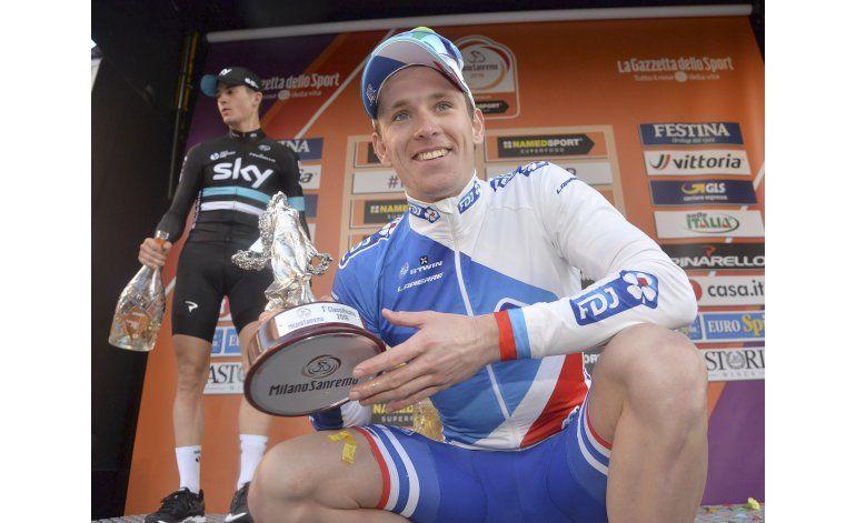 Demare se recupera de caída y gana la clásica Milán-San Remo