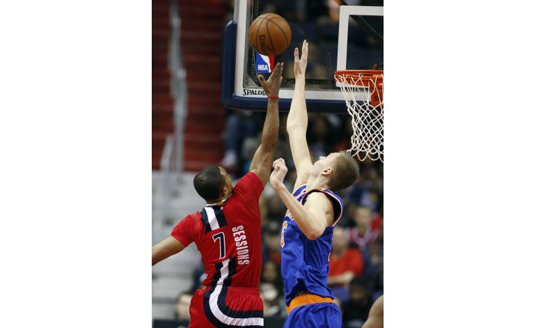 Walls lidera remontada de Wizards ante Knicks