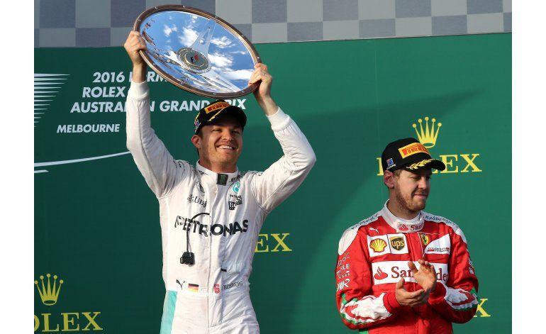 Rosberg gana a Hamilton en Australia para abrir temporada F1