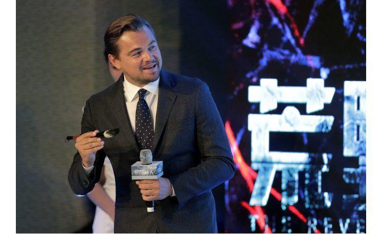 China puede ser héroe del cambio climático, dice DiCaprio