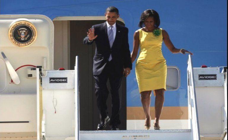 Salida de Obama hacia Cuba