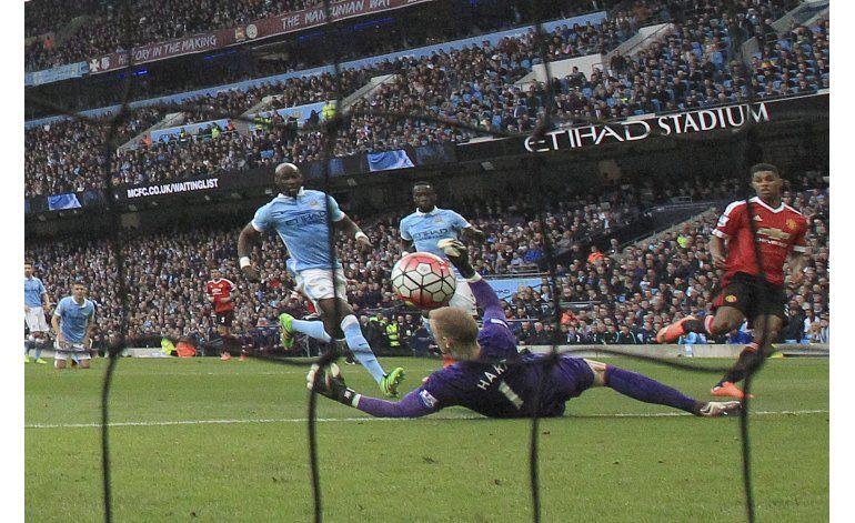 United se queda con el derbi de Manchester