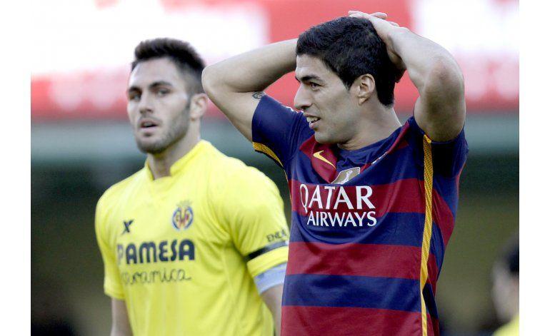 Barcelona empata en Villarreal y cierra racha victoriosa