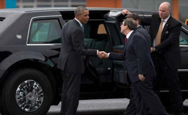 Trump califica de falta de respeto que Raúl no haya recibido a Obama