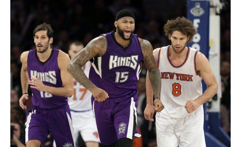 Cousins y la defensa de Sacramento abruma a los Knicks