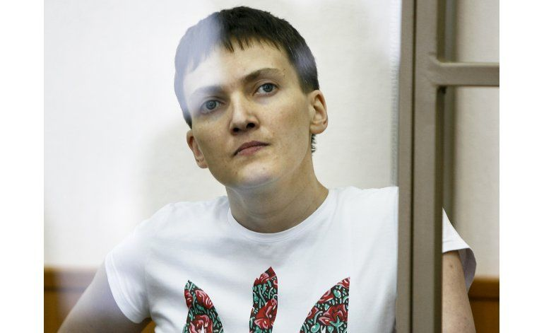 Corte rusa inicia lectura de veredicto de piloto ucraniana