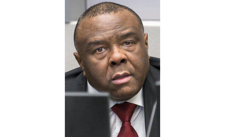 Ex vicepresidente congolés, condenado en Corte Internacional