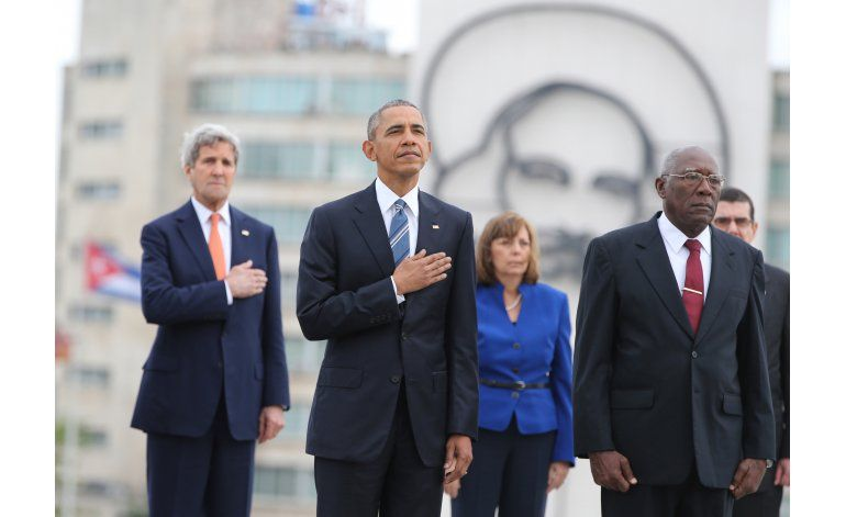 Embargo y DDHH, tensiones al desnudo en reunión Castro-Obama