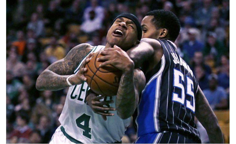 Thomas comanda triunfo de Celtics ante Orlando