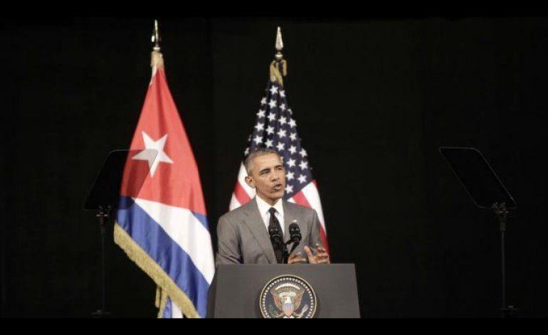 Obama a Castro: no tema a las voces diferentes del pueblo cubano