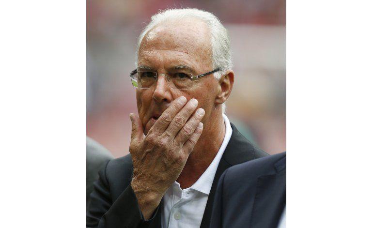 FIFA abre expediente por soborno contra Beckenbauer