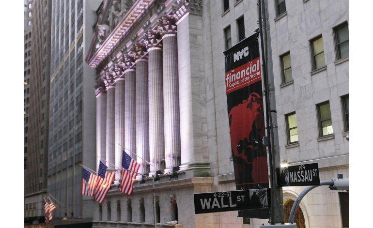 Wall Street cierra mayormente en baja