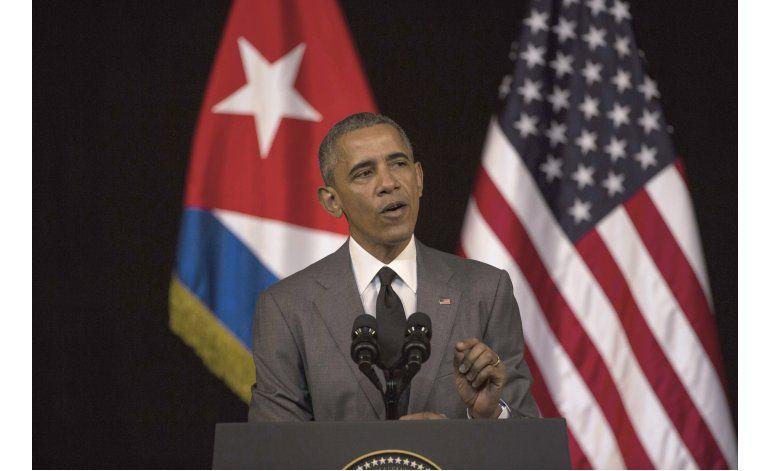 Obama pide apertura y libertad en Cuba