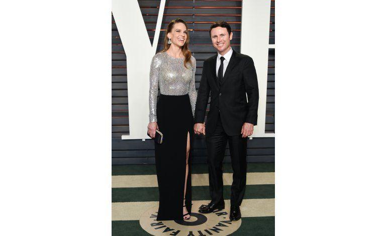 Hilary Swank se compromete con su novio colombiano