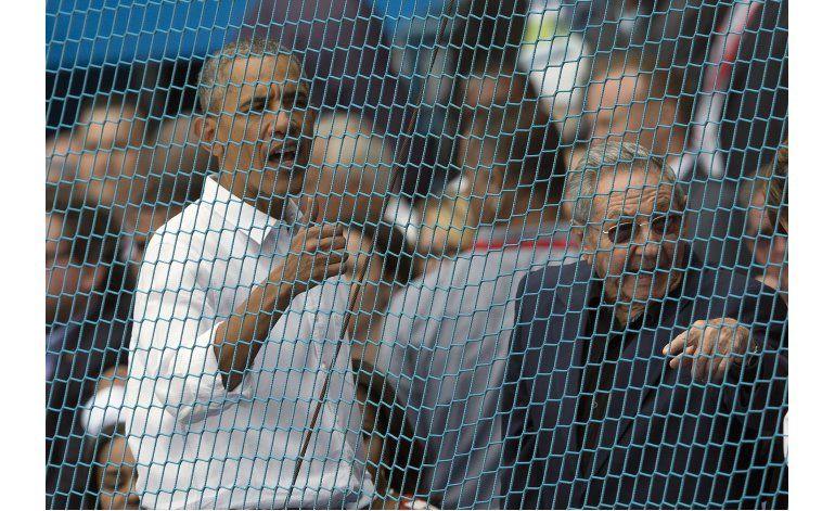 Con Obama y Castro presentes, Rays vencen a Cuba