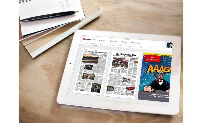 Debuta Blendle, nuevo servicio de noticias por internet