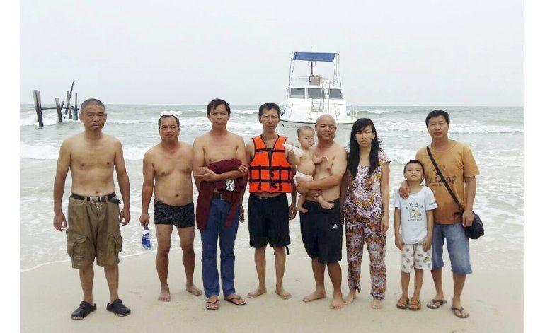 Disidentes chinos arriesgan sus vidas con viajes marítimos