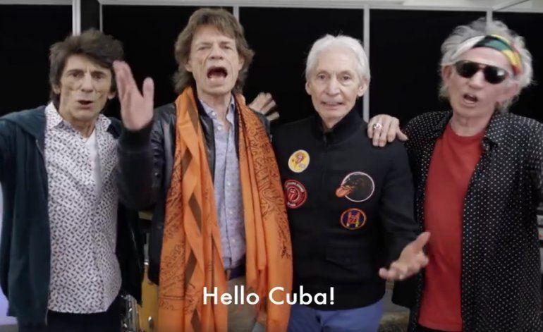 Un mensaje de los Rolling Stones al pueblo Cubano