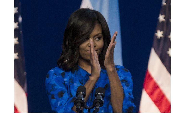 Michelle Obama elogia avance mujeres argentinas en política