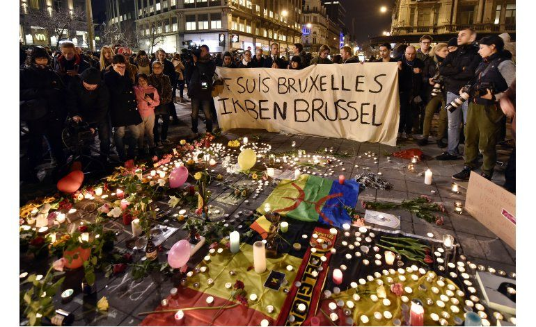 Bélgica llora, policía busca a sospechoso