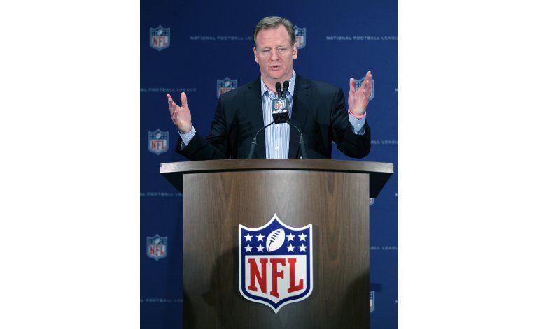 Goodell no descarta a Las Vegas como sede de equipo de NFL