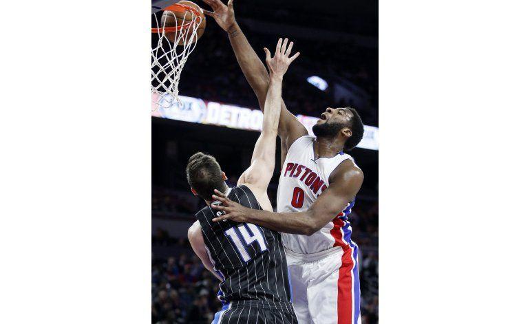 Pistons encadena su cuarto triunfo al vencer al Magic