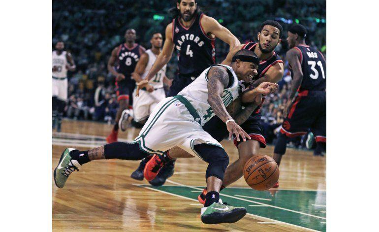 Thomas guía a Celtics a triunfo ante Raptors; Lowry descansa