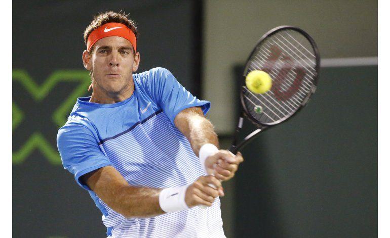 Del Potro despacha a Pella y se cita con Federer en Miami
