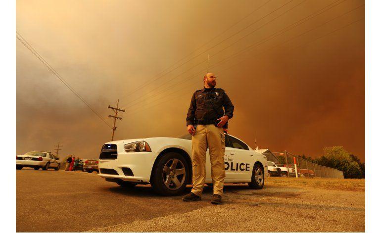 Cercan los incendios forestales en Kansas y Oklahoma