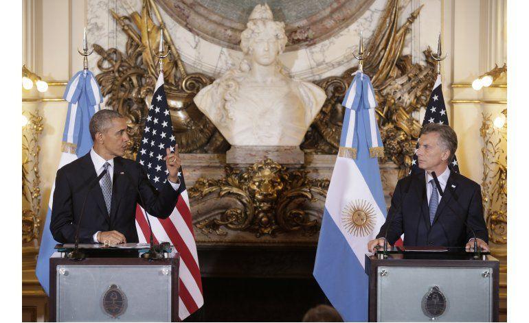 LO ULTIMO: Miles protestan contra Obama en sur de Argentina