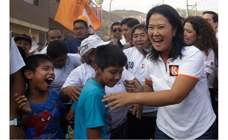 Perú: Tribunal mantiene en carrera electoral a Fujimori