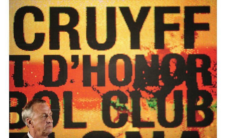 Holanda-Francia: un minuto de silencio en homenaje a Cruyff