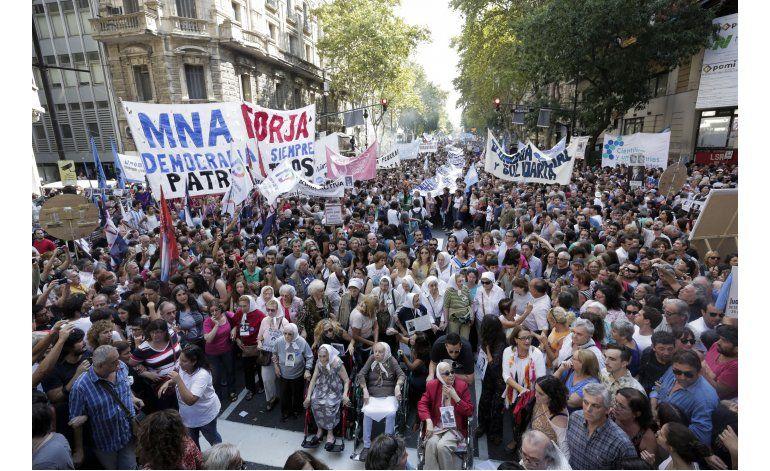 Argentina recuerda 40 años del último golpe militar