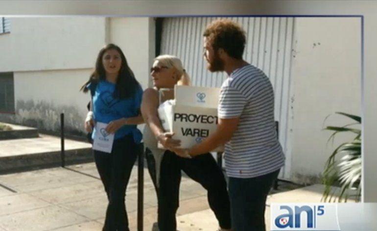 Rosa María Paya presenta más de 10mil firmas en asamblea nacional de Cuba