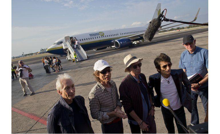Los Rolling Stones llegan a Cuba