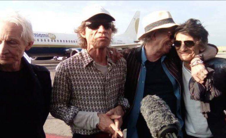 ¡Los Rolling Stones ya están en Cuba!