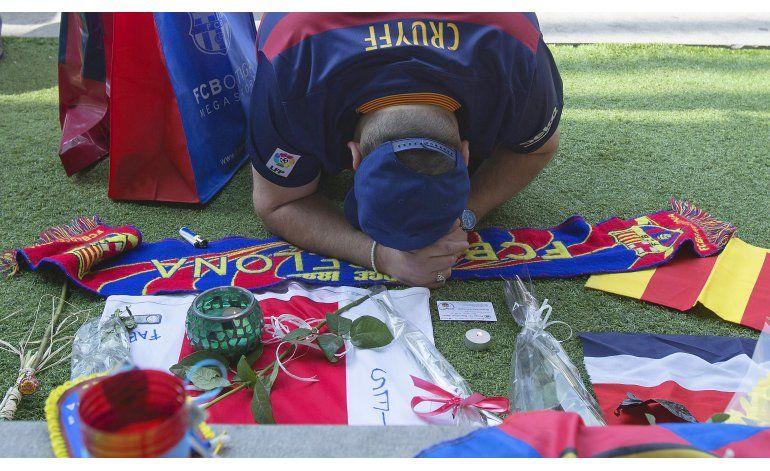 Barcelona realizará homenaje de cuatro días a Cruyff