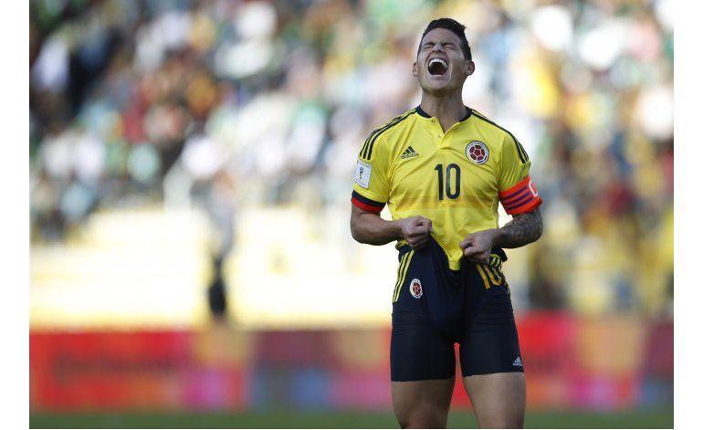 James vuelve a ser James y Colombia sale repotenciada